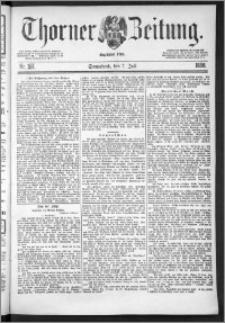 Thorner Zeitung 1888, Nr. 157