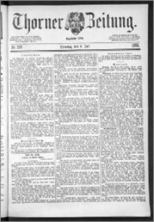Thorner Zeitung 1888, Nr. 158 + Beilage