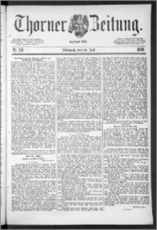 Thorner Zeitung 1888, Nr. 160