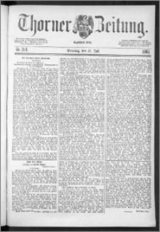 Thorner Zeitung 1888, Nr. 164