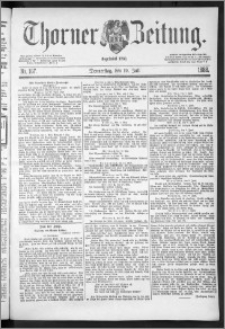 Thorner Zeitung 1888, Nr. 167