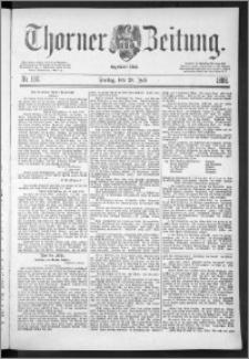Thorner Zeitung 1888, Nr. 168