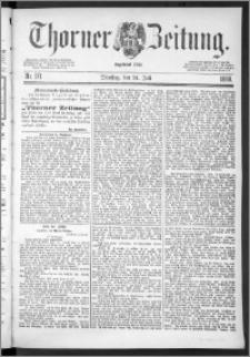 Thorner Zeitung 1888, Nr. 171