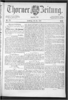 Thorner Zeitung 1888, Nr. 176