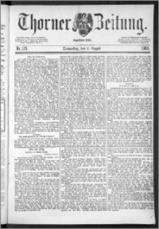 Thorner Zeitung 1888, Nr. 179