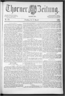 Thorner Zeitung 1888, Nr. 183