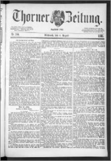 Thorner Zeitung 1888, Nr. 184