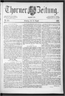 Thorner Zeitung 1888, Nr. 188