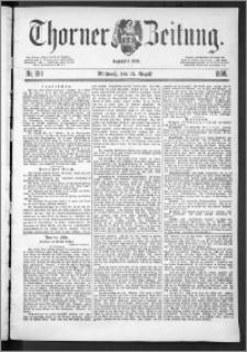 Thorner Zeitung 1888, Nr. 190