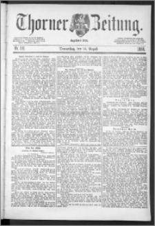 Thorner Zeitung 1888, Nr. 191
