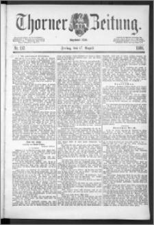 Thorner Zeitung 1888, Nr. 192