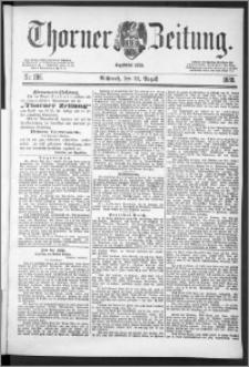 Thorner Zeitung 1888, Nr. 196