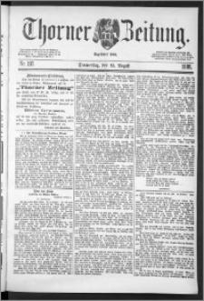 Thorner Zeitung 1888, Nr. 197