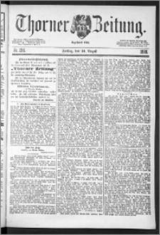 Thorner Zeitung 1888, Nr. 198