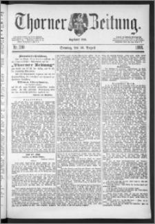 Thorner Zeitung 1888, Nr. 200