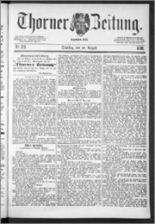 Thorner Zeitung 1888, Nr. 201