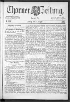 Thorner Zeitung 1888, Nr. 204