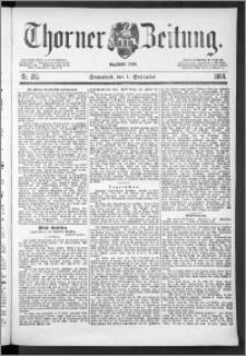 Thorner Zeitung 1888, Nr. 205