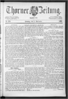 Thorner Zeitung 1888, Nr. 206