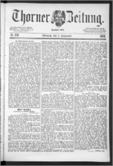 Thorner Zeitung 1888, Nr. 208