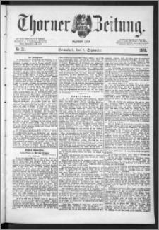 Thorner Zeitung 1888, Nr. 211