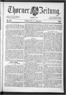 Thorner Zeitung 1888, Nr. 213