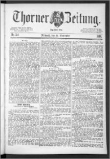 Thorner Zeitung 1888, Nr. 214