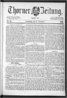 Thorner Zeitung 1888, Nr. 215