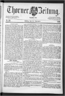 Thorner Zeitung 1888, Nr. 216