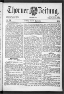 Thorner Zeitung 1888, Nr. 219