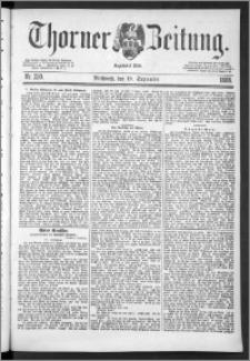 Thorner Zeitung 1888, Nr. 220