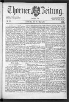 Thorner Zeitung 1888, Nr. 221