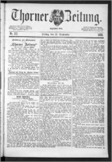 Thorner Zeitung 1888, Nr. 222