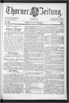 Thorner Zeitung 1888, Nr. 224 + Beilage
