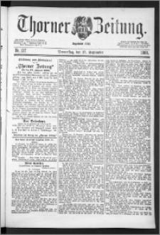 Thorner Zeitung 1888, Nr. 227