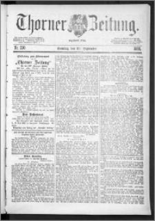 Thorner Zeitung 1888, Nr. 230 + Beilage