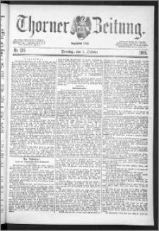 Thorner Zeitung 1888, Nr. 236