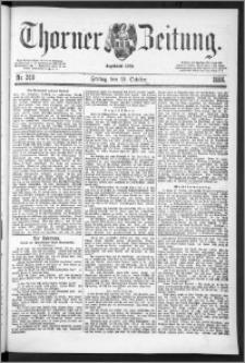 Thorner Zeitung 1888, Nr. 240