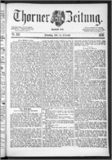 Thorner Zeitung 1888, Nr. 242