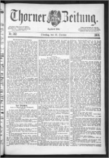 Thorner Zeitung 1888, Nr. 243