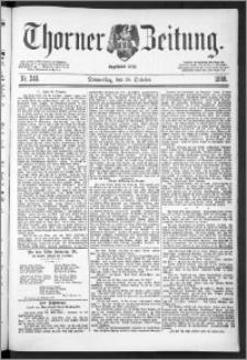 Thorner Zeitung 1888, Nr. 245