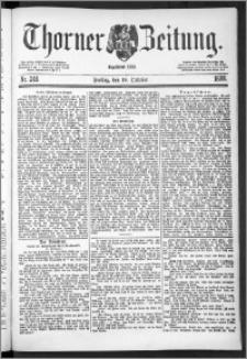 Thorner Zeitung 1888, Nr. 246