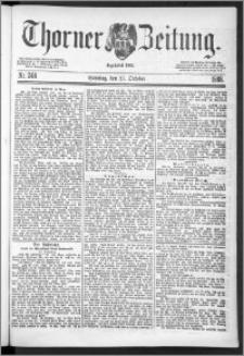 Thorner Zeitung 1888, Nr. 248 + Beilage