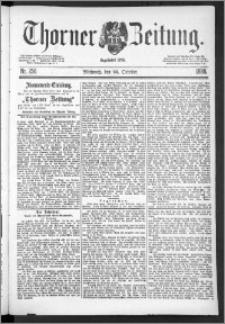 Thorner Zeitung 1888, Nr. 250