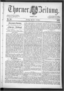 Thorner Zeitung 1888, Nr. 252 + Beilagenwerbung
