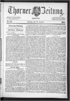Thorner Zeitung 1888, Nr. 255