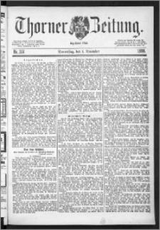 Thorner Zeitung 1888, Nr. 257