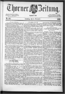 Thorner Zeitung 1888, Nr. 260