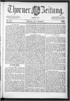 Thorner Zeitung 1888, Nr. 262