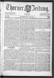 Thorner Zeitung 1888, Nr. 263